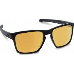 Okulary przeciwsłoneczne OAKLEY - Sliver Xl OO9341-07 Matte Black/24k Iridium. Czarne okulary przeciwsłoneczne męskie aviatory Oakley, z tworzywa sztucznego. W wyprzedaży za 449,00 zł.