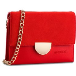 Torebka MONNARI - BAG0580-005 Red. Szare torebki klasyczne damskie marki Monnari, z materiału, średnie. W wyprzedaży za 139,00 zł.