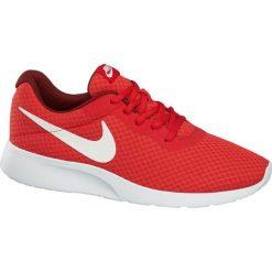Buty męskie Nike Tanjun NIKE czerwone. Czarne buty do biegania męskie marki Nike, z materiału, nike tanjun. Za 279,90 zł.