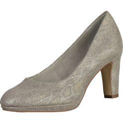 Buty ślubne damskie: Czółenka w kolorze szarym