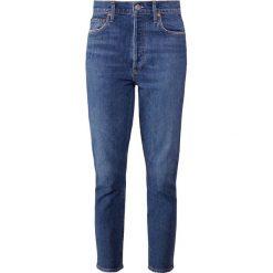 Agolde NICO FASHION  Jeans Skinny Fit sub. Niebieskie jeansy damskie relaxed fit Agolde, z bawełny. Za 919,00 zł.