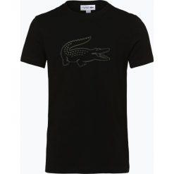 T-shirty męskie z nadrukiem: Lacoste – T-shirt męski, czarny