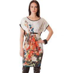 Sukienki hiszpanki: Sukienka w kolorze pomarańczowo-czarnym
