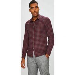 Medicine - Koszula Basic. Szare koszule męskie na spinki marki Guess Jeans, l, z aplikacjami, z bawełny, z klasycznym kołnierzykiem, z długim rękawem. Za 99,90 zł.