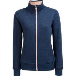 Bluza damska BLD610 - denim melanż - Outhorn. Brązowe bluzy rozpinane damskie Outhorn, na lato, melanż, z bawełny. W wyprzedaży za 49,99 zł.