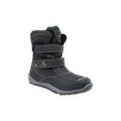 Śniegowce Dziecko Kappa  Tundra Tex T 260484T-1111. Czarne buty zimowe chłopięce Kappa. Za 149,99 zł.