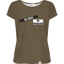 Colour Pleasure Koszulka damska CP-034 270 zielona r. XXXL/XXXXL. Zielone bluzki damskie Colour pleasure. Za 70,35 zł.
