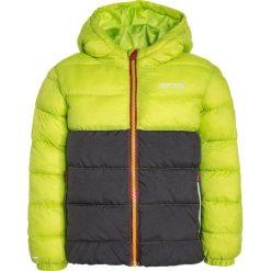 Regatta LOFTHOUSE Kurtka zimowa lime zest/iron. Zielone kurtki chłopięce zimowe marki Regatta, z materiału. W wyprzedaży za 223,30 zł.