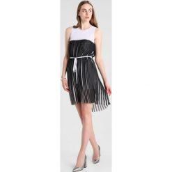 Odzież damska: Armani Exchange Sukienka letnia white/black