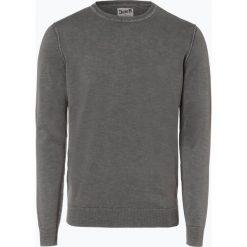 DENIM by Nils Sundström - Sweter męski, szary. Niebieskie swetry klasyczne męskie marki OLYMP SIGNATURE, m, paisley. Za 129,95 zł.