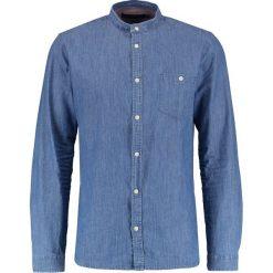 Koszule męskie na spinki: Suit ROSS MANDARIN Koszula indigo blue