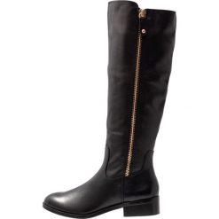 ALDO GAENNA Kozaki black. Czarne buty zimowe damskie ALDO, z materiału. Za 689,00 zł.