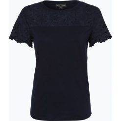 Franco Callegari - T-shirt damski, niebieski. Zielone t-shirty damskie marki Franco Callegari, z napisami. Za 129,95 zł.