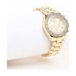 Złoty Zegarek Magic Hour. Żółte zegarki damskie marki Born2be, złote. Za 59,99 zł.