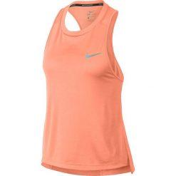 Koszulka do biegania damska NIKE DRY MILER TANK / 932497-827 - MILER TANK. Czarne topy sportowe damskie marki Nike, xs, z bawełny. Za 79,00 zł.