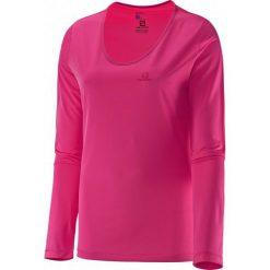 Salomon Koszulka Z Długim Rękawem Mazy Ls Tee W Hot Pink L. Różowe topy sportowe damskie Salomon, l, z materiału, z długim rękawem. W wyprzedaży za 109,00 zł.
