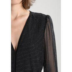 Sukienki hiszpanki: YAS YASVILDA  Sukienka koktajlowa black/silver