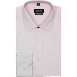 Koszula bexley 2363 długi rękaw custom fit róż. Szare koszule męskie na spinki marki Recman, m, z długim rękawem. Za 29,99 zł.