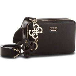 Torebka GUESS - Dania Mini-Bag HWVG69 57700 BLA. Czarne listonoszki damskie marki Guess, z aplikacjami. Za 479,00 zł.