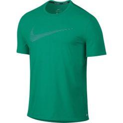 T-shirty męskie: koszulka do biegania męska NIKE DRI-FIT CONTOUR RUNNING TOP SHORT SLEEVE / 800812-351
