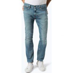 Tommy Jeans - Jeansy męskie – Scanton, niebieski. Niebieskie jeansy męskie z dziurami marki Tommy Jeans. Za 349,95 zł.