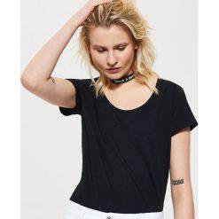 T-shirt basic - Czarny. Czarne t-shirty męskie House, l. Za 25,99 zł.