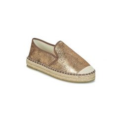 Espadryle LPB Shoes  MAYA. Żółte espadryle damskie marki Born2be, moro, na płaskiej podeszwie. Za 81,80 zł.
