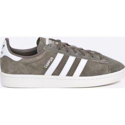Adidas Originals - Buty Campus. Szare buty sportowe męskie adidas Originals, z gumy, na sznurówki. W wyprzedaży za 299,90 zł.