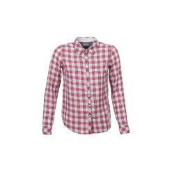 Koszule Tommy Jeans  BEITA. Czerwone koszule jeansowe damskie Tommy Jeans, l. Za 244,30 zł.