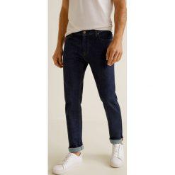 Mango Man - Jeansy Jan3. Niebieskie jeansy męskie Mango Man. Za 139,90 zł.