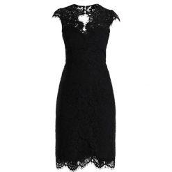 IVY & OAK DRESS Sukienka koktajlowa black. Czarne sukienki koktajlowe IVY & OAK, z bawełny. Za 589,00 zł.