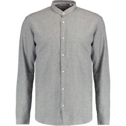 Koszule męskie na spinki: Shine Original MANDARIN COLLAR Koszula grey