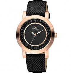 Zegarek kwarcowy w kolorze czarno-różowozłotym. Czarne, analogowe zegarki damskie Esprit Watches, ze stali. W wyprzedaży za 181,95 zł.