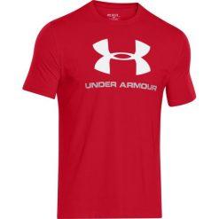 Under Armour Koszulka męska Under Armour Sportstyle Logo czerwona r. M  (1257615-600). Szare koszulki sportowe męskie marki Under Armour, z elastanu, sportowe. Za 93,13 zł.