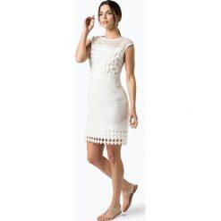 LAUREN RALPH LAUREN - Sukienka damska, czarny. Białe sukienki balowe marki BIALCON, na imprezę, w koronkowe wzory, z koronki, z kopertowym dekoltem, midi, kopertowe. Za 699,95 zł.