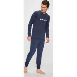 Diesel - Piżama. Czarne piżamy męskie marki Diesel, z bawełny. Za 359,90 zł.