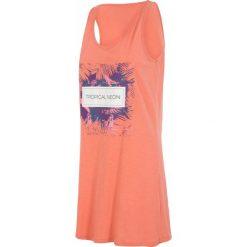 Sukienki hiszpanki: Sukienka SUDD001 – koral pastelowy