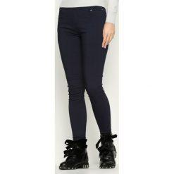 Spodnie damskie: Granatowe Spodnie Big Surprise