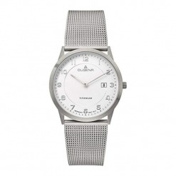 """Zegarek """"4460767"""" w kolorze srebrnym. Szare, analogowe zegarki męskie marki Dugena & Nautec No Limit, metalowe. W wyprzedaży za 409,95 zł."""
