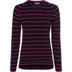 Marie Lund - Sweter damski, niebieski. Niebieskie swetry klasyczne damskie Marie Lund, m, z dzianiny. Za 149,95 zł.