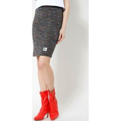 Spódniczki: Czarno-Czerwona Spódnica Chimney