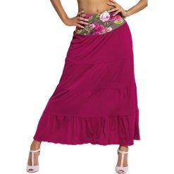 Spódniczki rozkloszowane: Spódnica w kolorze fioletowym