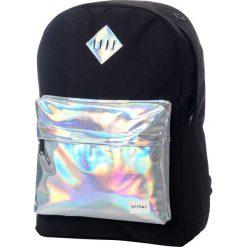 Plecaki damskie: Spiral UK Silver Rave Pocket Plecak czarny