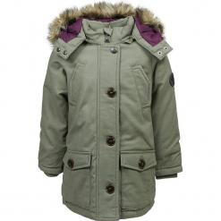 Parka w kolorze khaki. Brązowe kurtki dziewczęce przeciwdeszczowe marki Marc O'Polo Junior, na zimę, z materiału. W wyprzedaży za 312,95 zł.