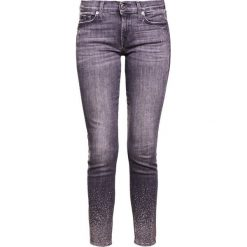 Rurki damskie: 7 for all mankind Jeans Skinny Fit grey