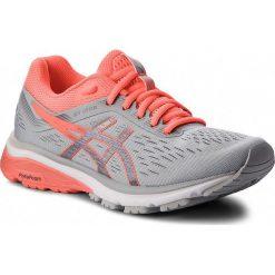 Buty ASICS - GT-1000 7 1012A030  Mid Grey/Flash Coral 021. Brązowe buty do biegania damskie Asics, z materiału. W wyprzedaży za 349,00 zł.