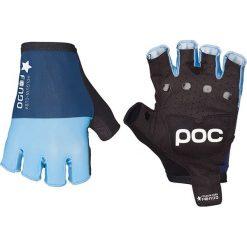 """Rękawiczki damskie: Rękawiczki kolarskie """"Fondo"""" w kolorze błękitno-niebieskim"""