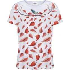 Colour Pleasure Koszulka damska CP-030 265 biało-pomarańczowa r. XL/XXL. T-shirty damskie Colour pleasure, xl. Za 70,35 zł.