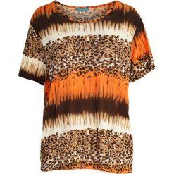 T-shirty damskie: Pomarańczowy T-shirt Little Boogie