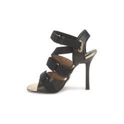Sandały Michael Kors  MK118113. Czarne sandały damskie marki Michael Kors. Za 2095,20 zł.